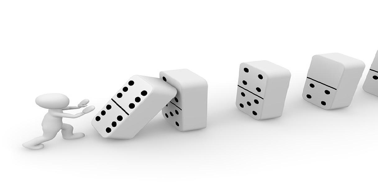 Jogo de dominó & Simple Present