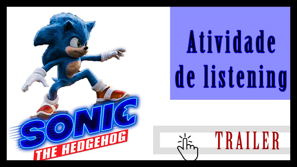 Inglês Com Sonic – Trailer